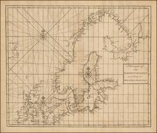 British Isles, Baltic Countries, Scandinavia and Denmark Map By John Senex / Edmund Halley / Nathaniel Cutler