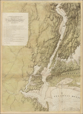 Mid-Atlantic Map By Joseph Frederick Wallet Des Barres