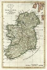 Europe and British Isles Map By Thomas Bowen