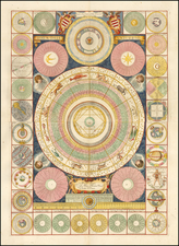 Curiosities and Celestial Maps Map By Vincenzo Maria Coronelli