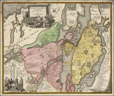 Sweden Map By Johann Baptist Homann