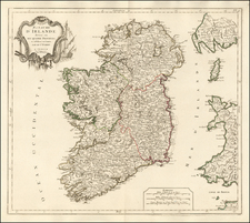 Ireland Map By Paolo Santini