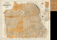 San Francisco & Bay Area Map By H.W.  Faust