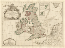 British Isles Map By Paolo Santini