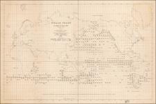 World and World Map By Matthew Fontaine Maury