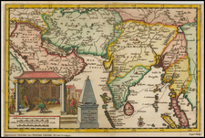 Southeast Asia, Other Islands and Central Asia & Caucasus Map By Pieter van der Aa