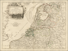 Netherlands Map By Jean Janvier
