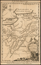 Mid-Atlantic and South Map By London Magazine