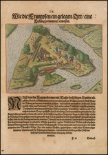 Southeast Map By Theodor De Bry