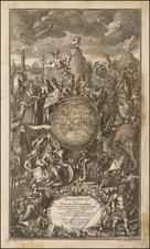 World, World and Curiosities Map By Matthaus Seutter