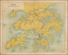 China Map By John Bartholomew