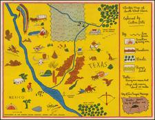 Texas Map By Gordon Baking Company