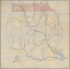 Plains and Oklahoma & Indian Territory Map By Anonymous