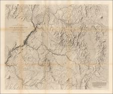 Southwest and Rocky Mountains Map By John N. Macomb