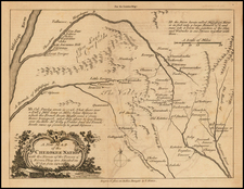 South and Mississippi Map By London Magazine