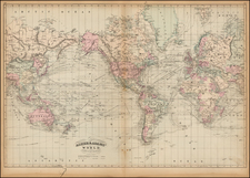 World and World Map By Asher  &  Adams