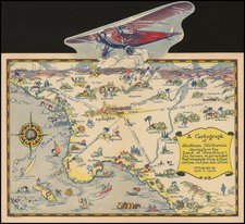 California Map By Ruth Taylor White