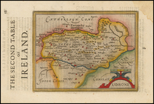 Urdone By Henricus Hondius - Gerhard Mercator