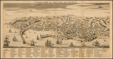 Italy, Northern Italy and Other Italian Cities Map By Thomas Jefferys