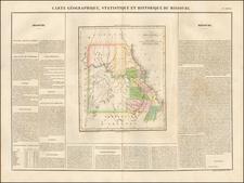 Missouri Map By Jean Alexandre Buchon