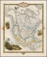 North America Map By Alfred Adlard