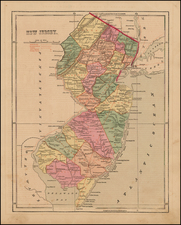 Mid-Atlantic and New Jersey Map By Charles Morse