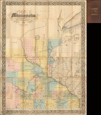 Midwest and Minnesota Map By Silas Chapman