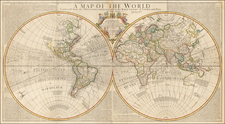 World and World Map By John Senex
