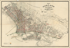 Other California Cities Map By Woodward, Watson & Co.