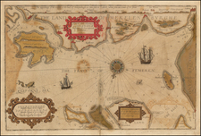 Germany, Scandinavia and Denmark Map By Lucas Janszoon Waghenaer / Anthony Ashley