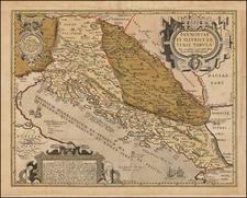 Balkans Map By Abraham Ortelius / John Overton
