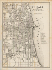 Midwest Map By American Photo-Lithographic Company