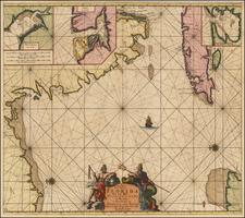 Florida and Cuba Map By Johannes Van Keulen