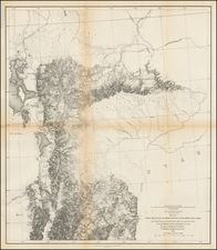 Southwest, Rocky Mountains and Utah Map By U.S. Pacific RR Surveys