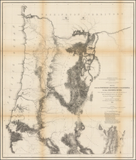 Map By U.S. Pacific RR Surveys
