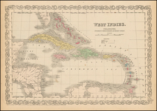 Caribbean Map By Charles Desilver