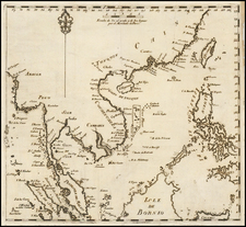 China, Southeast Asia, Philippines and Other Islands Map By Cipriano Bagay