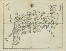 Japan and Philippines Map By Cipriano Bagay