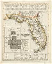Florida Map By Joseph Meyer