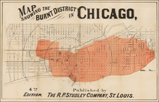Midwest Map By R.P. Studley Company