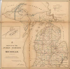 Midwest Map By General Land Office