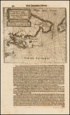 Argentina and Chile Map By Theodor De Bry