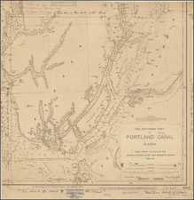 Alaska Map By U.S. Coast & Geodetic Survey / George Davidson