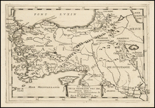Turkey and Turkey & Asia Minor Map By Pierre Du Val