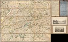 Switzerland Map By Heinrich Keller
