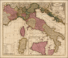 Italy Map By Peter Schenk