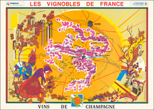 France Map By M. S. Dutter