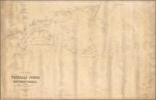 Massachusetts Map By George Eldridge