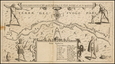 South America Map By Matthaeus Merian