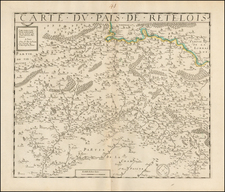 France Map By Jean Le Clerc / F. dela Pointe